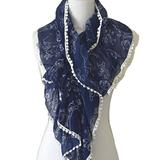 Disney Accessories | Disney Parks Character Scarf Donald Duck Dumbo | Color: Blue/White | Size: Os