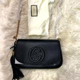 Gucci Bags | Brand New Gucci Soho Black Leather Crossbody Bag | Color: Black | Size: Os