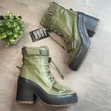 Converse Shoes   Converse Ctas Gr82 Xx-Hi Green Heeled Combat Boot   Color: Black/Green   Size: 7.5