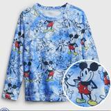Disney Swim | Gap Disney New Toddler Boy Mickey Mouse Rash Guard | Color: Blue | Size: 4tb