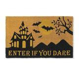 Enter If You Dare Coir Door Mat - Grandin Road
