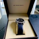 Burberry Accessories   Mens Burberry Watch   Color: Black   Size: Os