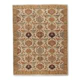 """Lisbon Hand-knotted Wool Area Rug - 6"""" x 9"""" - Frontgate"""