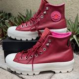 Converse Shoes | Converse Ctas Lugged Winter Hi Boots-Platforms Wmn | Color: Red/White | Size: Various
