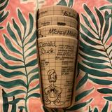 Disney Dining | Disney Sketch Characters Bamboo Small Tumblers Cup | Color: Black/Cream | Size: Os