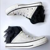 Converse Shoes   Converse Block Party High Top Sneakers   Color: Black/White   Size: 12g