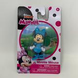 Disney Toys   Minnie Mouse Figurine Cake Topper Disney Toy New   Color: Black/Blue   Size: 2.5