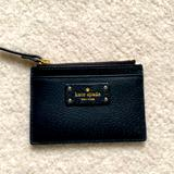 Kate Spade Accessories | New Kate Spade Card Wallet Case Black | Color: Black | Size: Os
