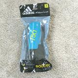 Adidas Other   Adidas Soccer Shinguards Kids   Color: Black/Blue   Size: Ages 3-7