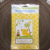 Disney Party Supplies | Lion King Little One Baby Shower Keepsake Book | Color: Yellow | Size: Os