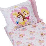 Disney Bedding | Disney Princess Toddler Bedding Set | Color: Pink/White | Size: Toddler