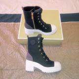 Michael Kors Shoes | Michael Kors Corey Bootie | Color: Black/Brown | Size: Various