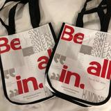 Lululemon Athletica Other   Lululemon Shopping Bag Tote Small   Color: Silver/White   Size: Os