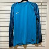 Nike Shirts | Nike Soccer Goalie Jersey - Size M | Color: Black/Blue | Size: M