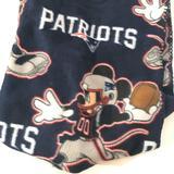 Disney Bedding   Disney Nfl Mickey New England Patriots Blanket   Color: Blue   Size: Os