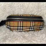 Burberry Bags   Burberry Beige Canvas Sunny Bumbag   Color: Black/Brown   Size: Os