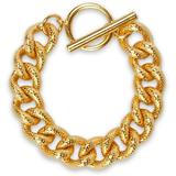 Hammered 24-karat -plated Bracelet - Metallic - Ben-Amun Bracelets