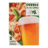 50-Piece Beer & Pizza Shaped Puzzle Set, Green