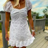 American Eagle Outfitters Dresses   American Eagle Babydoll Dress   Color: White   Size: S