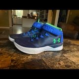 Under Armour Shoes   Boots Under Armour Basketball Shoes 6.5y   Color: Black/Blue   Size: 6.5b