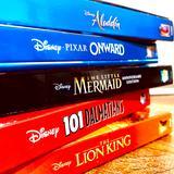 Disney Other | Disney: 5 Dvd Bundle Disney Classics | Color: Blue/Orange | Size: Bundle Of 5 Blu-Rays
