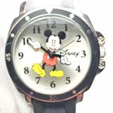 Disney Accessories   Disney Mickey Mouse Black Rubber Watch   Color: Black/Silver   Size: Os
