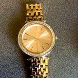 Michael Kors Jewelry   Michael Kors Womens Watch Darci- Rose Gold   Color: Gold   Size: For 6-7 Inch Wrists