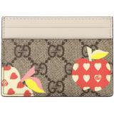 Les Pommes Card Case Wallet - Natural - Gucci Wallets
