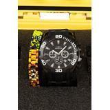 Invicta Pro Diver Scuba Quartz Men's Black Watch - 50mm - Special Edition Bundle - (22338-SPECIAL)