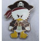 Disney Toys | Disney Pin Cute Characters Donald Duck Potc | Color: Brown/White | Size: Osbb