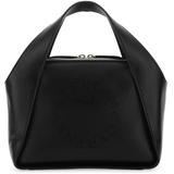 Mini Stella Logo Crossbody Bag - Black - Stella McCartney Shoulder Bags