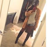 Jessica Simpson Shoes | Jessica Simpson Black Thigh High Boots | Color: Black | Size: 9