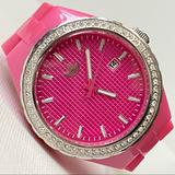 Adidas Accessories | Adidas Cambridge Big Face Women'S Watch | Color: Pink/Silver | Size: Os