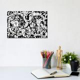 East Urban Home The Infinity - Ancient Greek by Koorosh Nejad - Wrapped Canvas Graphic Art Canvas & Fabric in Brown/Green   Wayfair KOO2-1PC3-12x8