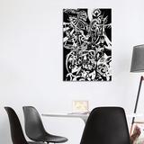 East Urban Home Zamin - Ancient Persia by Koorosh Nejad - Wrapped Canvas Graphic Art Metal in Brown/Green | Wayfair KOO4-1PC3-40x26