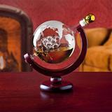 Red Barrel Studio® Whiskey Decanter Globe - For Liquor, Scotch, Bourbon, Vodka Or Wine - 850Ml Glass, Size 9.0 H x 6.5 W in   Wayfair