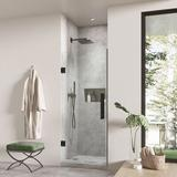 """Ove Decors Endless Tampa-Pro 30.71"""" W x 72.01"""" H Shower Kit Tempered Glass in Black, Size 72.01 H x 30.71 W in   Wayfair TP0200400"""