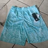 Adidas Bottoms | Adidas Boys Shorts. Size M. New. Donovan Mitchell. | Color: Blue/Green | Size: Mb