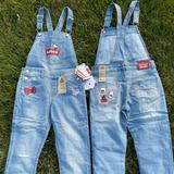 Levi's Bottoms   Hello Kitty Overalls Levis 6x 7 4 5 6   Color: Blue/Red   Size: Various