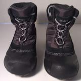 Columbia Shoes | Columbia Boys Snow Boots Size 12 Winter Waterproof | Color: Black/Gray | Size: 12b