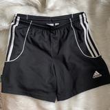 Adidas Bottoms   Kids Adidas Soccer Shorts   Color: Black/White   Size: Mg