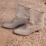 Nine West Shoes   Nine Weat Beidge Booties   Color: Cream   Size: 5.5