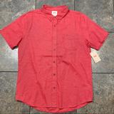 Levi's Shirts | New! Mens Levis Ss Button Down Shirt Size Xl Wtags | Color: Red | Size: Xl