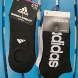 Adidas Accessories   Adidas   2 Packs Of Women'S Socks=12 Pair Total   Color: Black/White   Size: Size 5-10