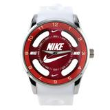 Nike Accessories   Nike Watch (Red) Analog Sports Wristwatch   Color: Red/White   Size: Redwhite
