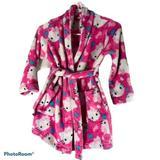 Hello Kitty Fleece Plush Girl's Robe 6