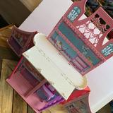 Barbie Mariposa Butterfly Folding Carry Doll House