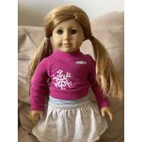 American Girl Doll Mia Retired Girl Of The Year Red Hair Green Eyes