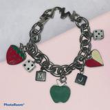 Marc Jacobs Enamel Charm Bracelet
