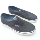 VANS kids black canvas Elastic sneakers sz 3